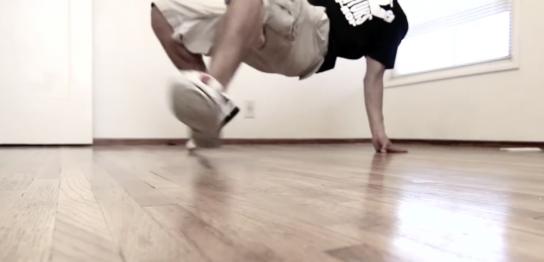ブレイクダンス 6歩