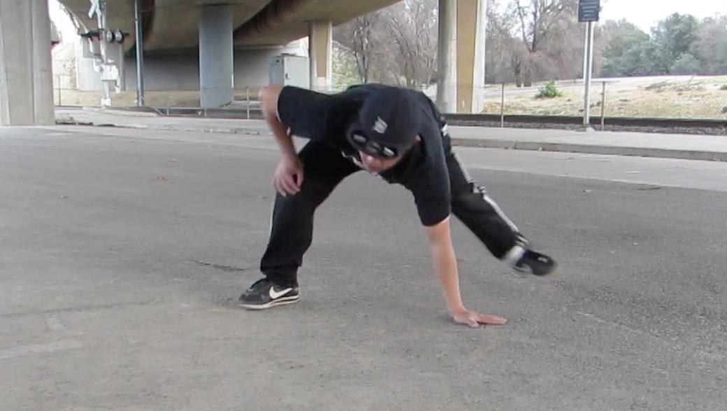 ブレイクダンス 5歩